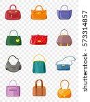 vector various types of women... | Shutterstock .eps vector #573314857