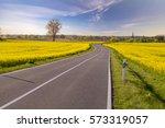 Rural  Asphalt Road To The...