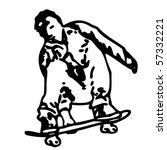 skater | Shutterstock .eps vector #57332221