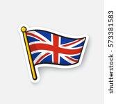 vector illustration. flag of... | Shutterstock .eps vector #573381583