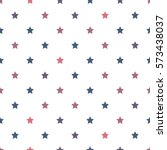 seamless pattern with stars.... | Shutterstock .eps vector #573438037