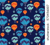 balloon pattern   Shutterstock .eps vector #573456007