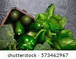 food background of green... | Shutterstock . vector #573462967