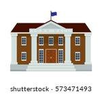 modern flat commercial... | Shutterstock .eps vector #573471493