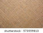 Texture Of Natural Burlap Fabric