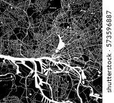 hamburg vector map  artprint.... | Shutterstock .eps vector #573596887