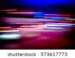 night light colorful abstract... | Shutterstock . vector #573617773