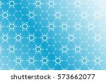 abstract futuristic background ... | Shutterstock .eps vector #573662077