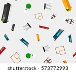 abstract vector background with ... | Shutterstock .eps vector #573772993
