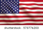 Usa American Flag Background...