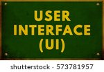 user interface ui text  written ...