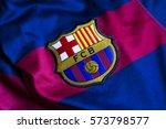 zagreb  croatia   february 07 ... | Shutterstock . vector #573798577