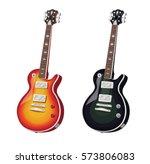 classic electric guitars. set....