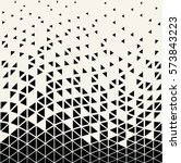 abstracet geometric halftone... | Shutterstock .eps vector #573843223