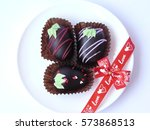 Trio Chocolate Ball Decorated...