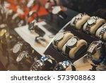 luxury watches | Shutterstock . vector #573908863
