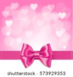 beautiful pink love background... | Shutterstock .eps vector #573929353