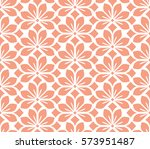 seamless floral vector pattern. ... | Shutterstock .eps vector #573951487