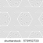 abstract geometric pattern with ... | Shutterstock .eps vector #573952723