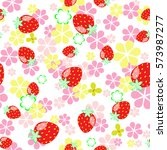 Strawberry Seamless Pattern...