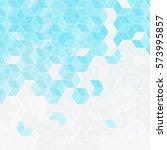 abstract rhombus blue...   Shutterstock .eps vector #573995857