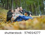 beautiful happy family  | Shutterstock . vector #574014277