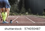 track and field athlete... | Shutterstock . vector #574050487