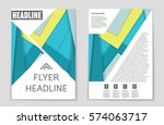 abstract vector layout... | Shutterstock .eps vector #574063717