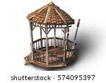 old west bandstand 3d | Shutterstock . vector #574095397