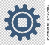 blue cog interface toolbar... | Shutterstock .eps vector #574109863