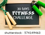 fitness and health concept  30... | Shutterstock . vector #574149463