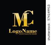 mc logo | Shutterstock .eps vector #574149913
