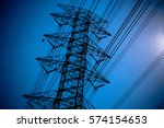 sky with power pole   Shutterstock . vector #574154653