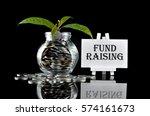 business concept   money in... | Shutterstock . vector #574161673