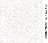 seamless vintage style... | Shutterstock .eps vector #574162513
