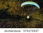 Abstract Of Powered Paraglider...