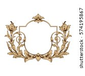 vintage baroque ornament retro...