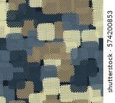 seamless pattern. disorderly... | Shutterstock .eps vector #574200853