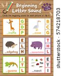 clip cards matching game of... | Shutterstock .eps vector #574218703