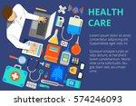 vector illustration in modern... | Shutterstock .eps vector #574246093