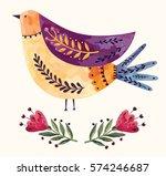 vector art illustration with... | Shutterstock .eps vector #574246687
