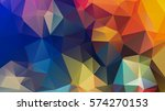 Polygonal Abstract Background...