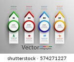 infographic design vector  can... | Shutterstock .eps vector #574271227