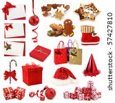 Christmas Collection Isolated...