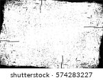 grunge black and white urban... | Shutterstock .eps vector #574283227