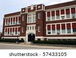 old catholic school   Shutterstock . vector #57433105