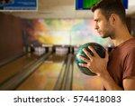 i am a winner. close up profile ...   Shutterstock . vector #574418083