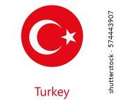 vector illustration flag of... | Shutterstock .eps vector #574443907