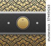 horizontal banner template on... | Shutterstock .eps vector #574454263