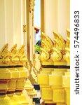 thai temple architecture   Shutterstock . vector #574496833